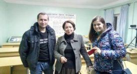 "Занятия в рамках проекта ""Украина-Норвегия"""
